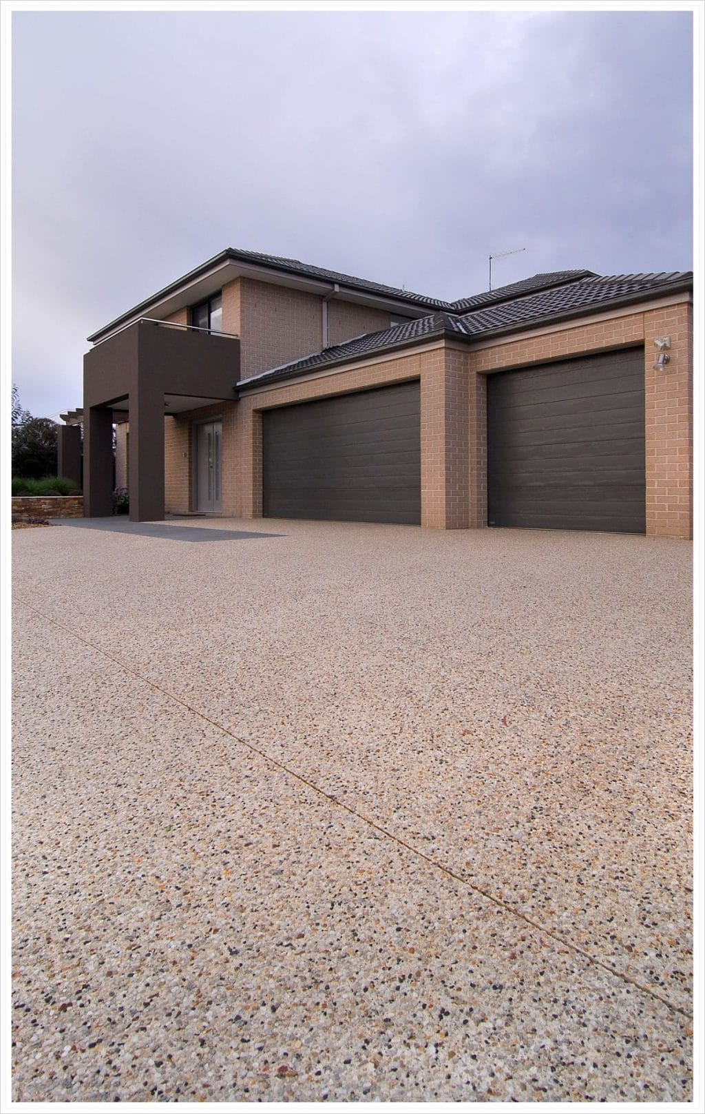Exposed Aggregate Caruana No Colour driveway in Pakenham